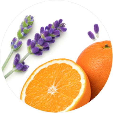 ラベンダーオレンジ